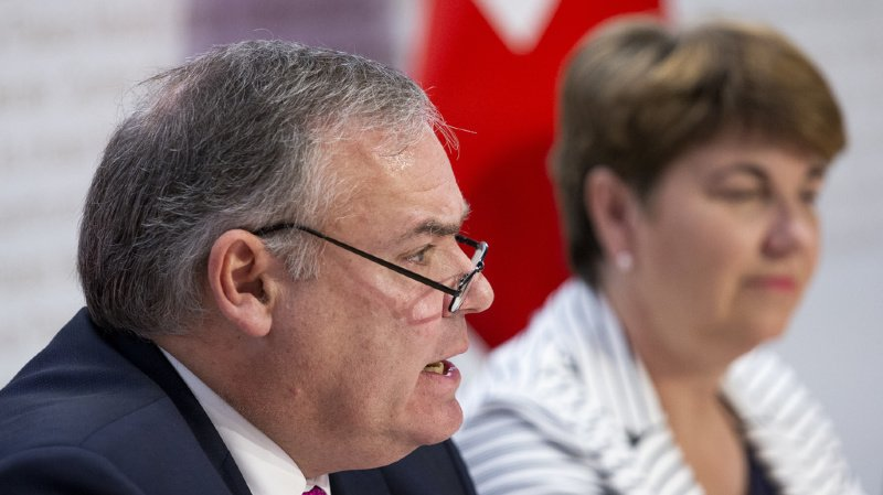 Jean-Philippe Gaudin va relever un nouveau défi dans l'économie privée, indique le gouvernement. (archives)
