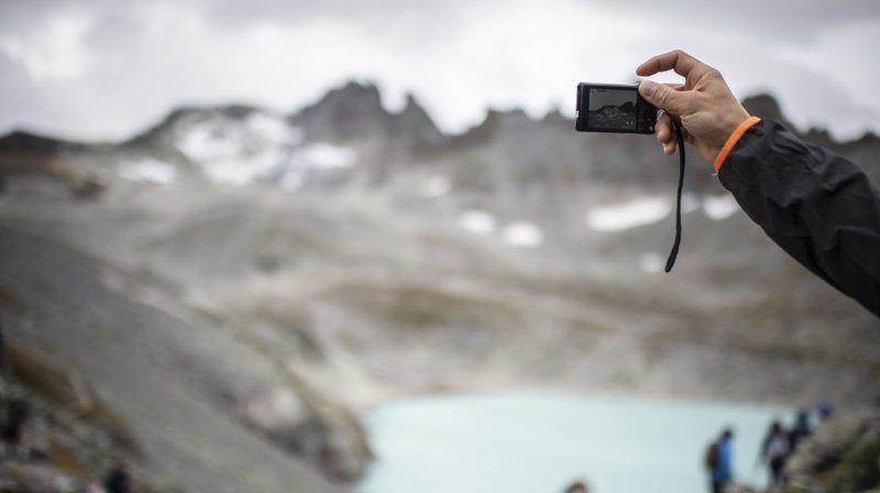 Les conséquences du réchauffement climatique sont particulièrement visibles dans les Alpes.