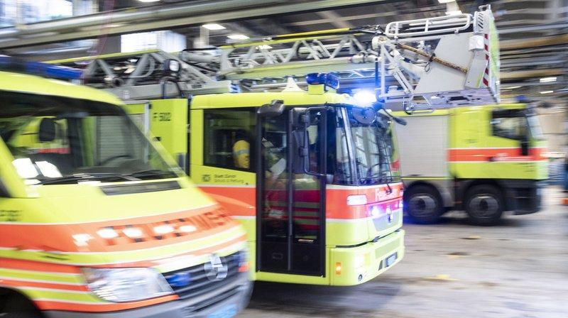 Incendie: un mort dans un appartement en feu à Zurich