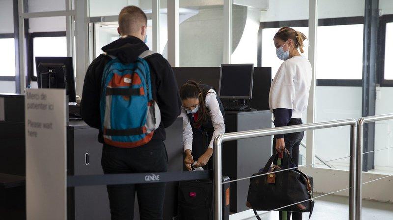 Entre 7800 et un peu plus de 9000 passagers par jour ont pris des vols depuis Genève durant le week-end.