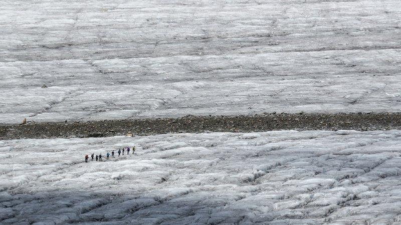 Les glaciers qui fondent le plus rapidement se trouvent en Alaska, en Islande et dans les Alpes.
