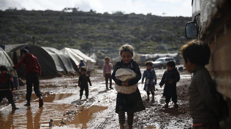 Syrie: la Suisse dégage 60 millions de plus pour aider la population