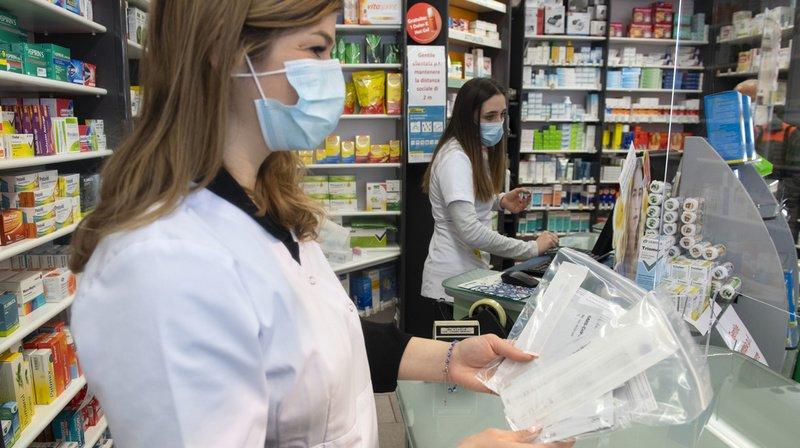 Coronavirus: pénurie d'autotests de Roche dans les pharmacies depuis vendredi