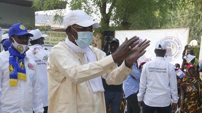Idriss Deby venait d'être réélu pour un mandat de 6 ans.