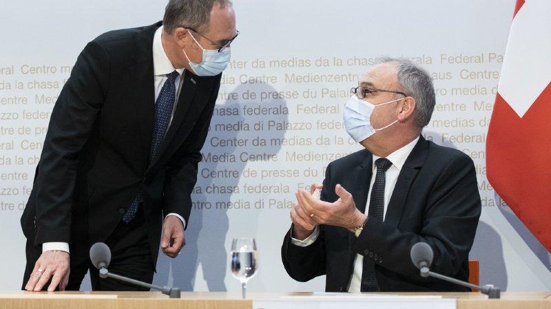 Coronavirus: le Conseil fédéral et le Parlement appellent à voter oui à la loi Covid-19