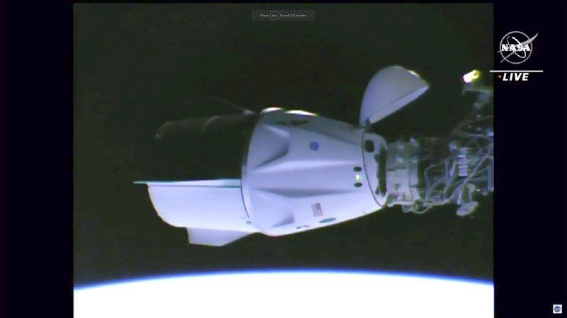 La capsule Crew Dragon Endeavour de SpaceX s'est amarrée à l'ISS
