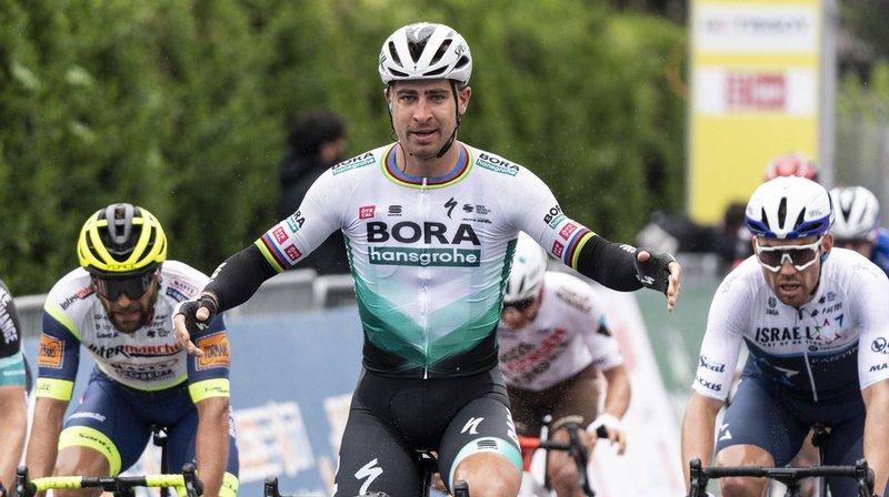 Cyclisme – Tour de Romandie: le Slovaque Peter Sagan s'est imposé lors de la 1ère étape
