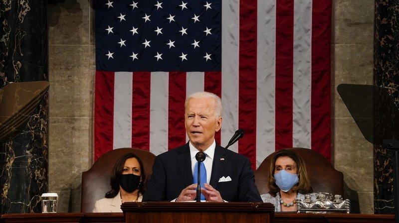 Joe Biden devant le Congrès: «L'Amérique va de nouveau de l'avant»