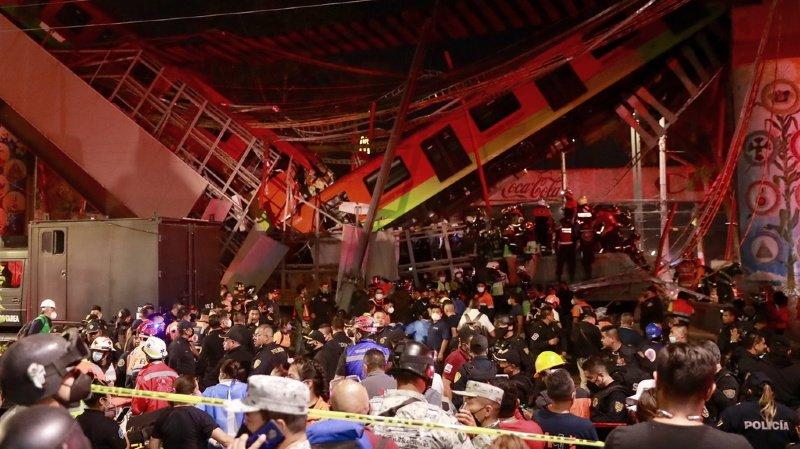 L'accident, qui s'est produit vers 22h00 heure locale (05h00 heure suisse) près de la station Olivos, sur la ligne 12 du métro qui traverse le sud de la capitale, a fait près de 70 blessés.