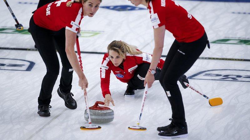 Mondial de curling à Calgary: 7e succès pour la Suisse