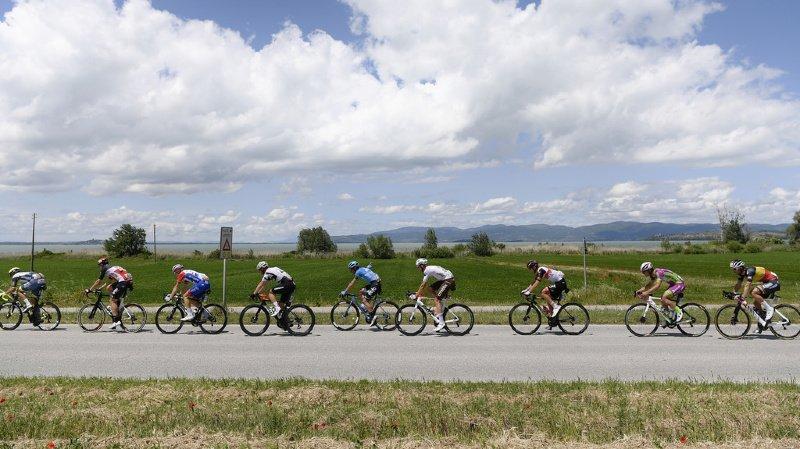 Cyclisme - Giro: succès du Suisse Mauro Schmid à l'issue de la 11e étape