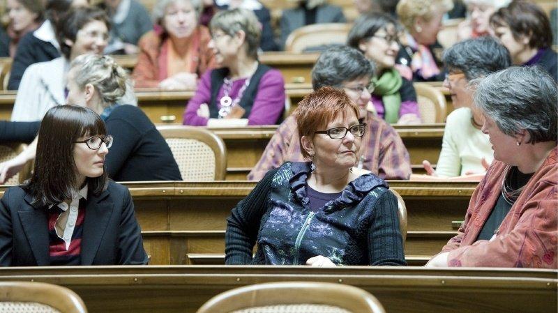 Egalité: une session des femmes au Parlement en octobre