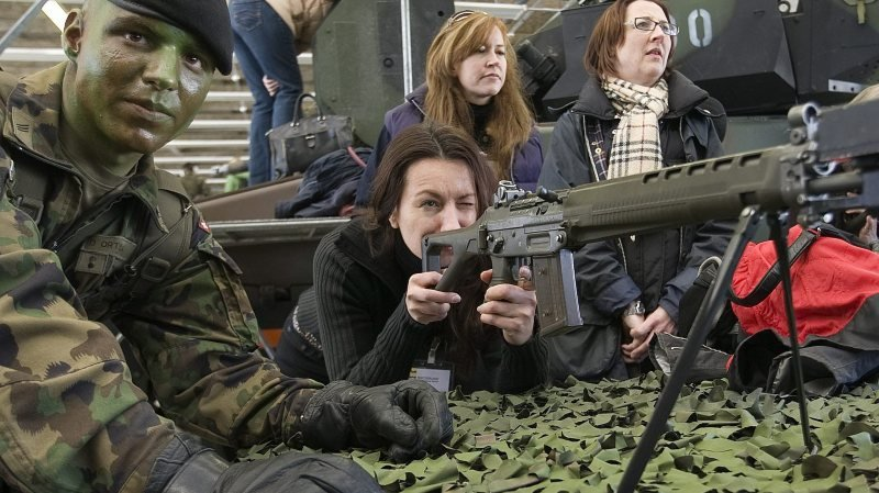 Armée suisse: «Le soldat du futur pourrait voler»