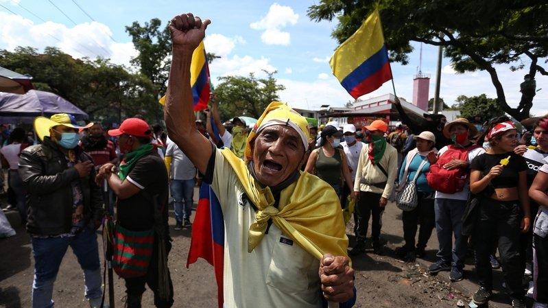 La Colombie sombre dans un grave chaos