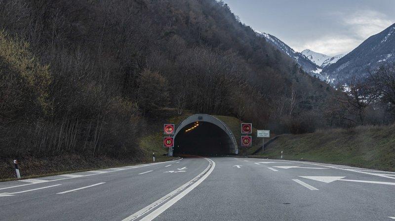 Le tunnel du Mont-Chemin va subir un nettoyage de printemps.