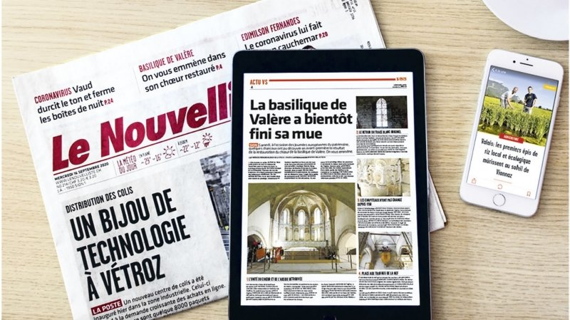 «Le Nouvelliste» dépasse pour la première fois une audience de 200000 lectrices et lecteurs