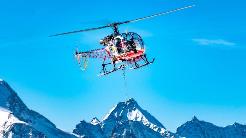 Le Lama, emblématique hélicoptère du ciel valaisan, prend sa retraite
