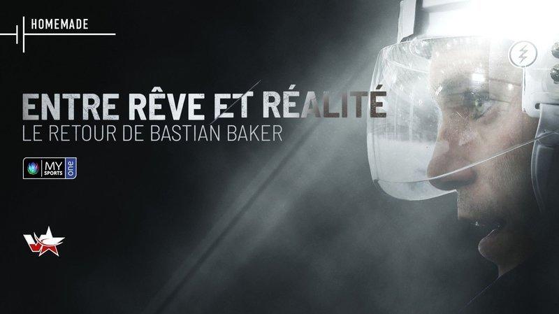 Hockey: Bastian Baker, une aventure entre rêve et réalité pour l'attaquant du HCV Martigny