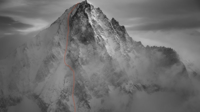 Trois skieurs dont un Valaisan ont skié la face sud-ouest du Bietschhorn