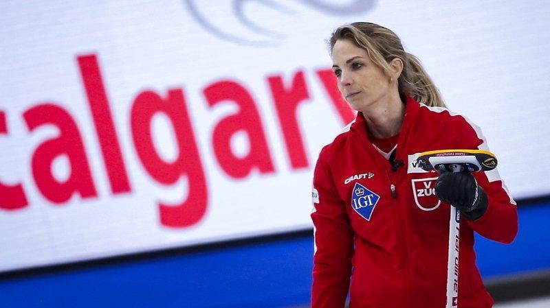 Le CC Aarau de Silvana Tirinzoni a inscrit 8 points en un end dimanche soir.
