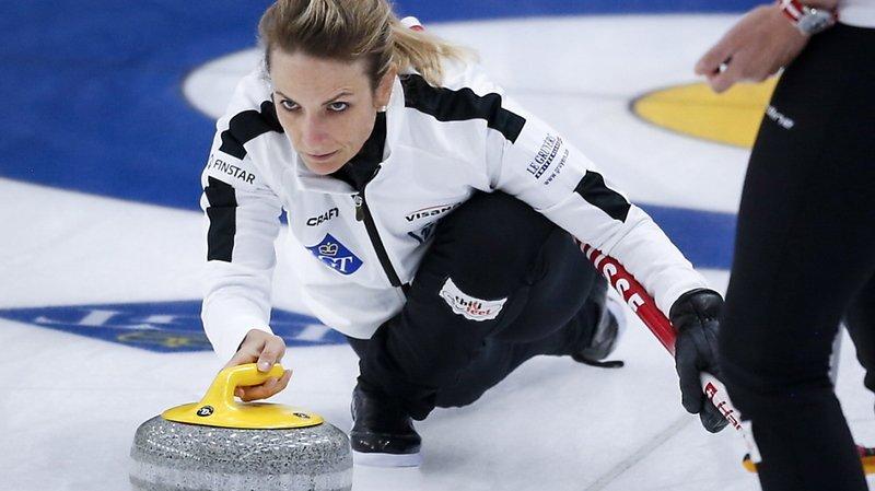 Mondial de curling à Calgary: 8e succès en 9 matches pour la Suisse