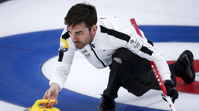 Curling: la Suisse n'a plus son destin en main au Mondial de Calgary
