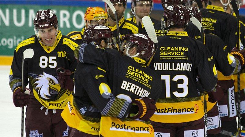Hockey – National League: Genève s'impose face à Lugano, Bienne perd contre Zoug