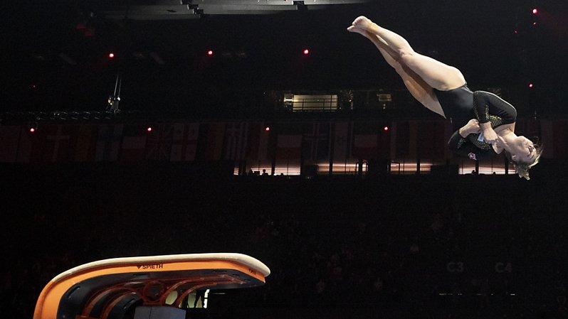 Gymnastique artistique: l'or pour Giulia Steingruber au saut, Benjamin Gischard décroche l'argent au sol