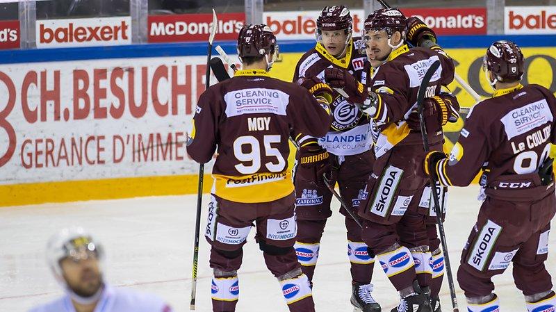Hockey sur glace – National League: Genève égalise, Lausanne sèchement battu
