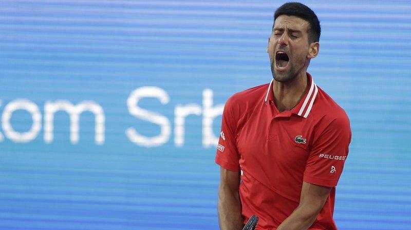 Novak Djokovic est tombé chez lui à Belgrade en demi-finales.