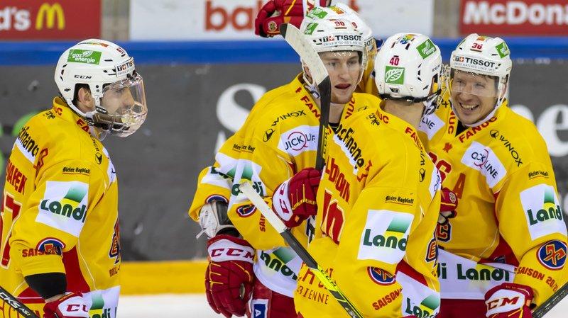 Hockey – National League: Bienne réussit un incroyable retour face à Genève
