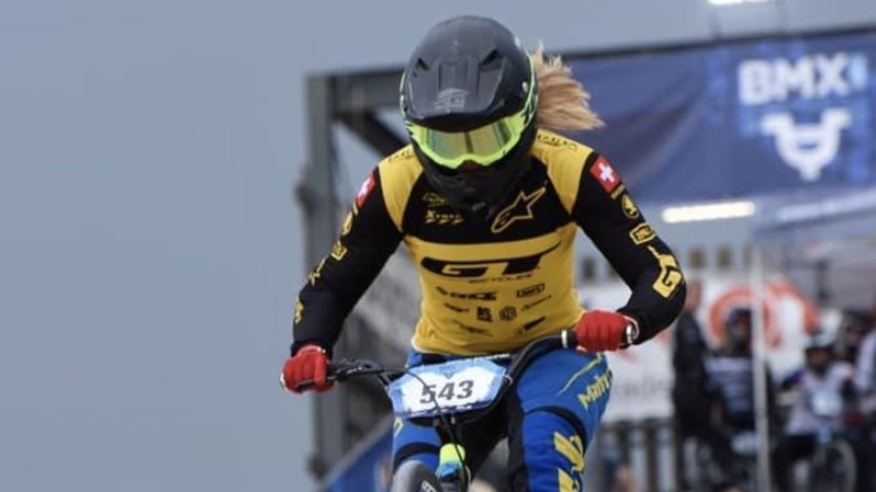 BMX: la Valaisanne Amaëlle Caloz se qualifie pour sa première finale en Coupe du monde