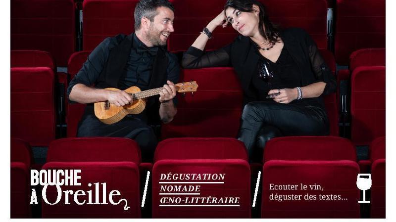 La dégustation oeno-littéraire du duo Mathieu Bessero-Belti et Marie Linder est l'une des propositions artistiques disponibles sur la nouvelle plateforme.