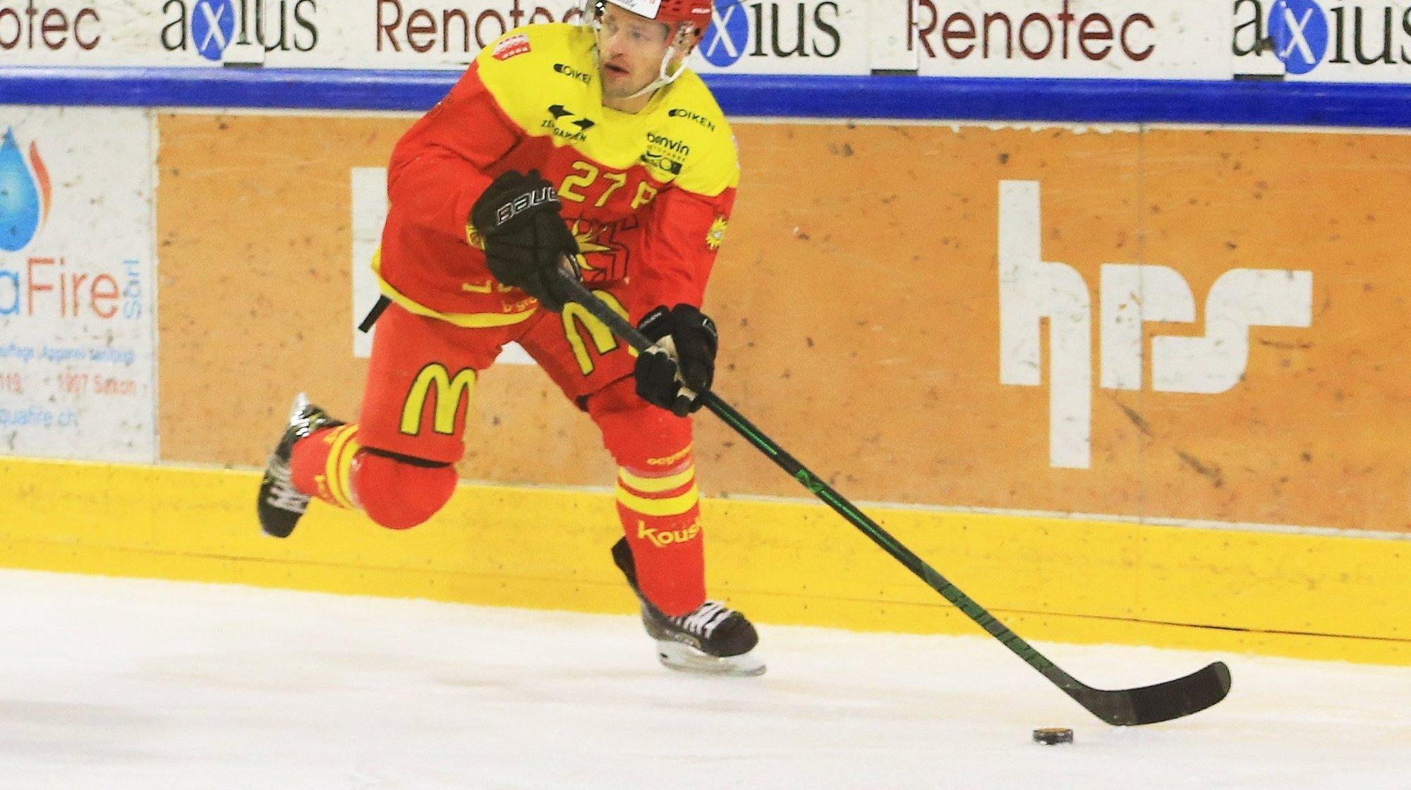 Hockey: Eric Castonguay, le Canadien du HC Sierre, n'était pas attendu à pareille fête