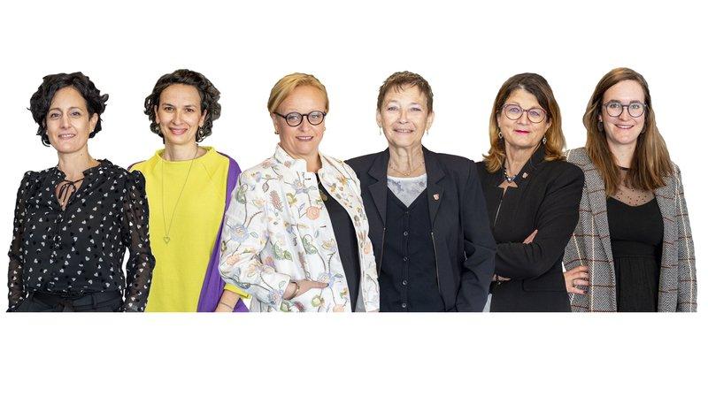 Grand Conseil valaisan: six femmes à six postes clés
