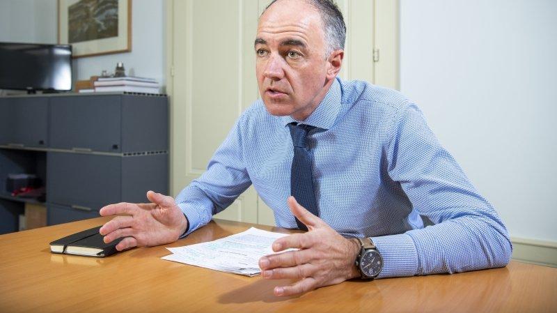Pour Christophe Darbellay, Lonza s'est développée très rapidement ces dernières années en créant plus de 1200 emplois.