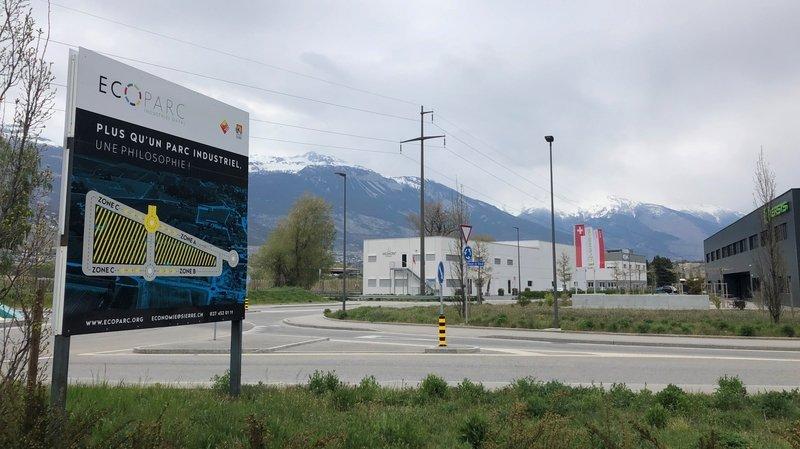 A Sierre, les entreprises présentes sur l'écoparc de Daval et sur la zone industrielle du Chablé ont uni leur destin autour d'une association.