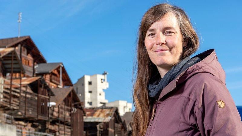 Enfant du village, Aline Dayer est revenue vivre dans sa commune après quelques années passées en plaine.