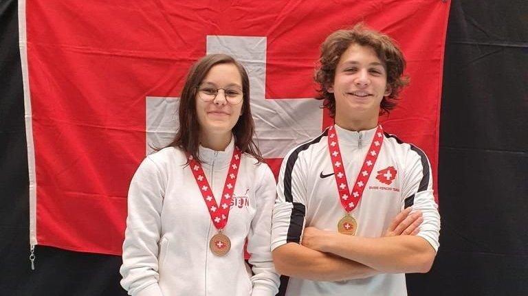 Escrime: Aurèle Favre est champion de Suisse U17 et U20