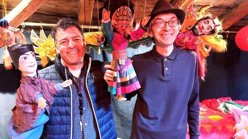 Dorénaz: les marionnettes redonnent vie à la Maison des contes et légendes