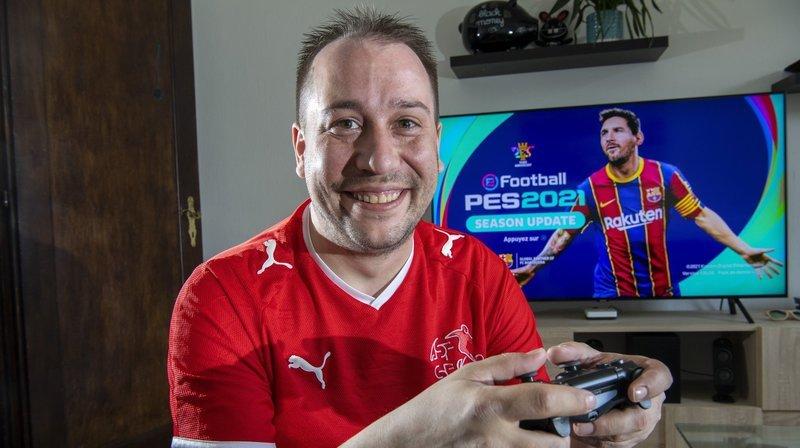 E-sport: le Valaisan Tristan Burri défend les couleurs de la Nati à l'e-Euro 2021