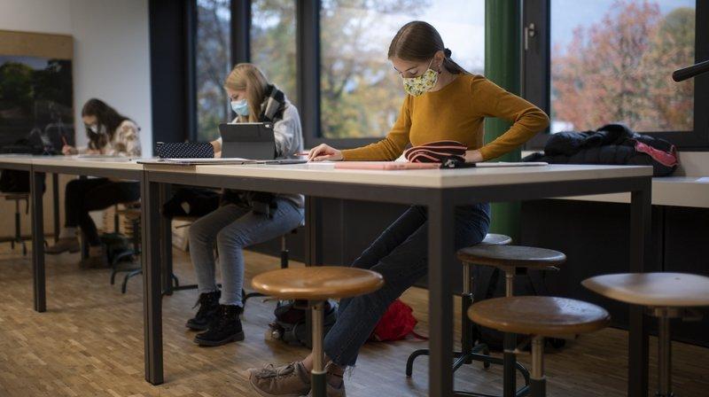 Ecoles en Valais: les examens finaux se feront en présentiel