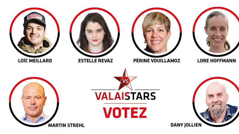 ValaiStars: élisez la personnalité du 1er trimestre 2021