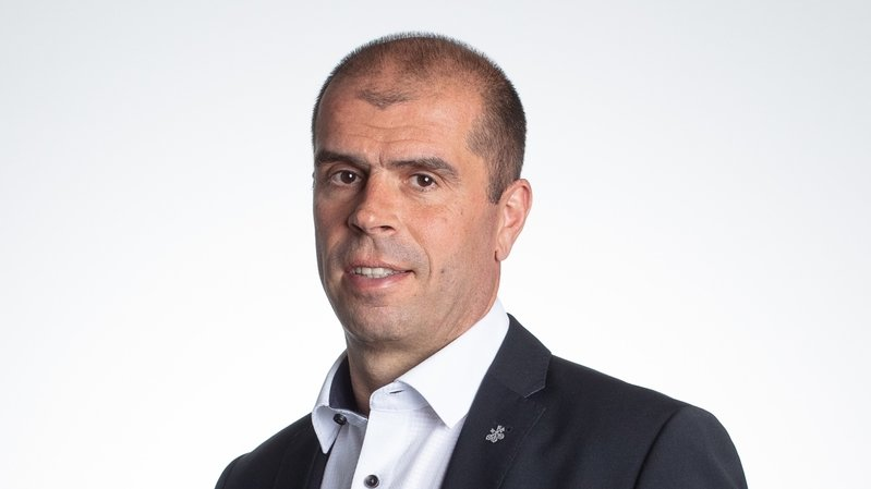 Gabriel Epiney, responsable de la clientèle privée, UBS Valais