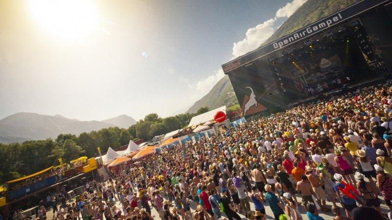 L'Open Air Gampel veut tenter les 10 000 personnes par jour en septembre