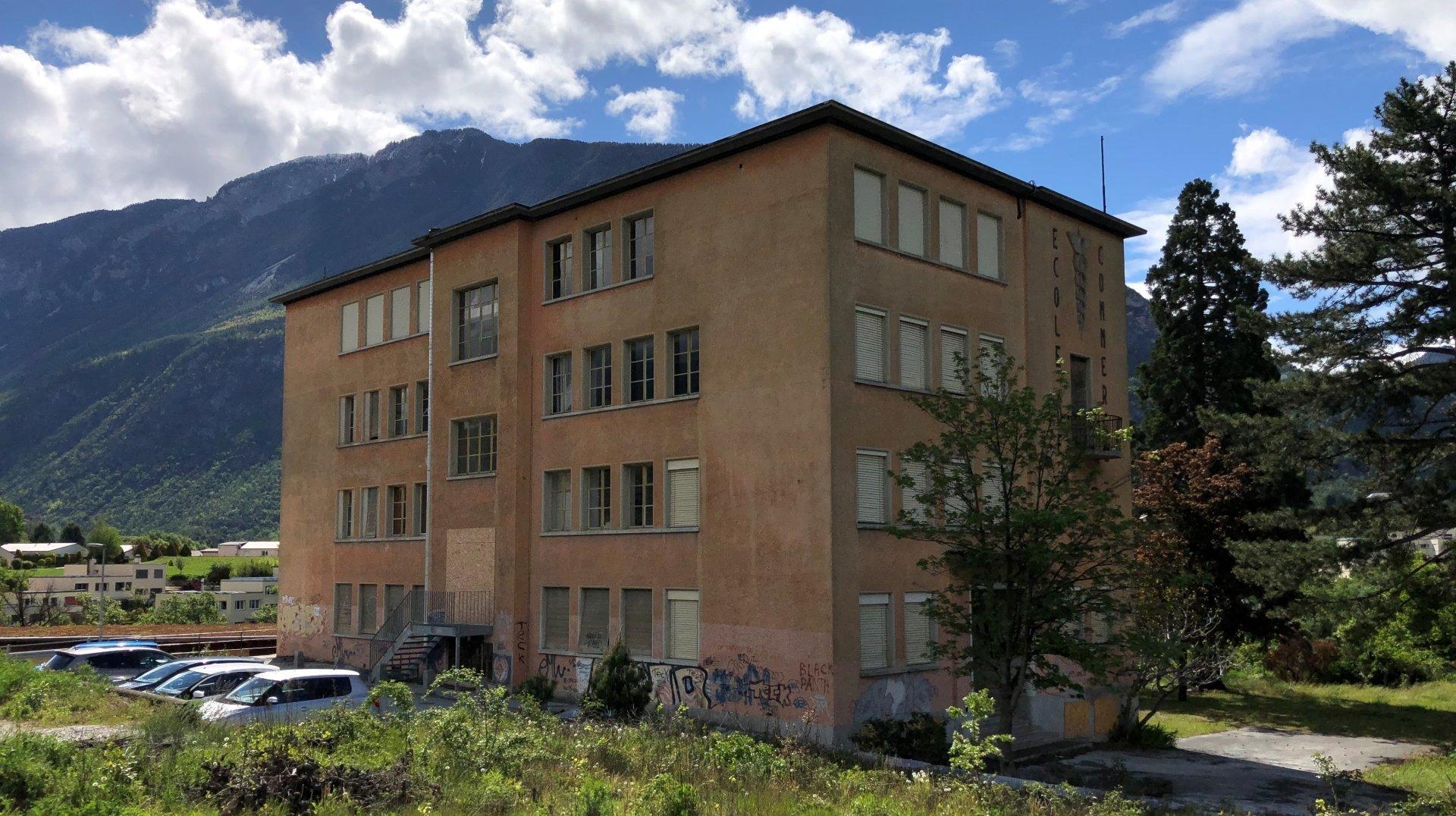 Sierre: le bâtiment de l'ancienne ECCG de Goubing va reprendre du service