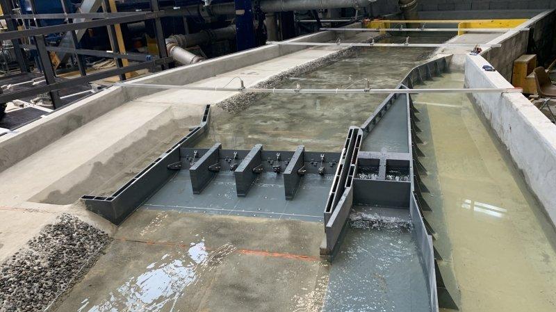 Le projet de barrage sur le Rhône à Massongex passe l'examen des chercheurs de l'EPFL