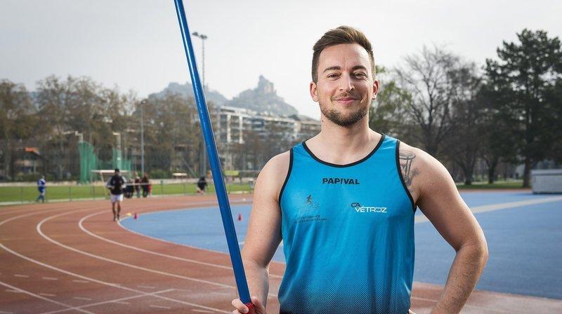 Athlétisme: Laurent Carron lance son javelot à près de 70 mètres