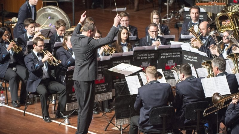 Musique: nouvelle distinction, européenne et virtuelle, pour le Valaisia Brass Band