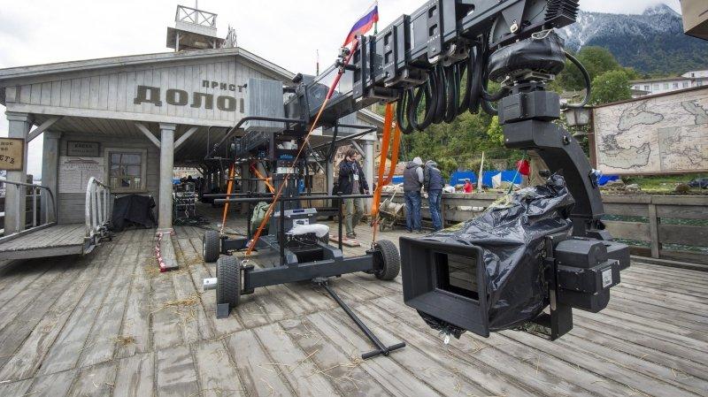 """Pour quelques semaines en 2012, le Léman s'est mué en Volga, le temps de tourner quelques scènes de """"Sunstroke"""", du réalisateur russe Nikita Mikhalkov."""